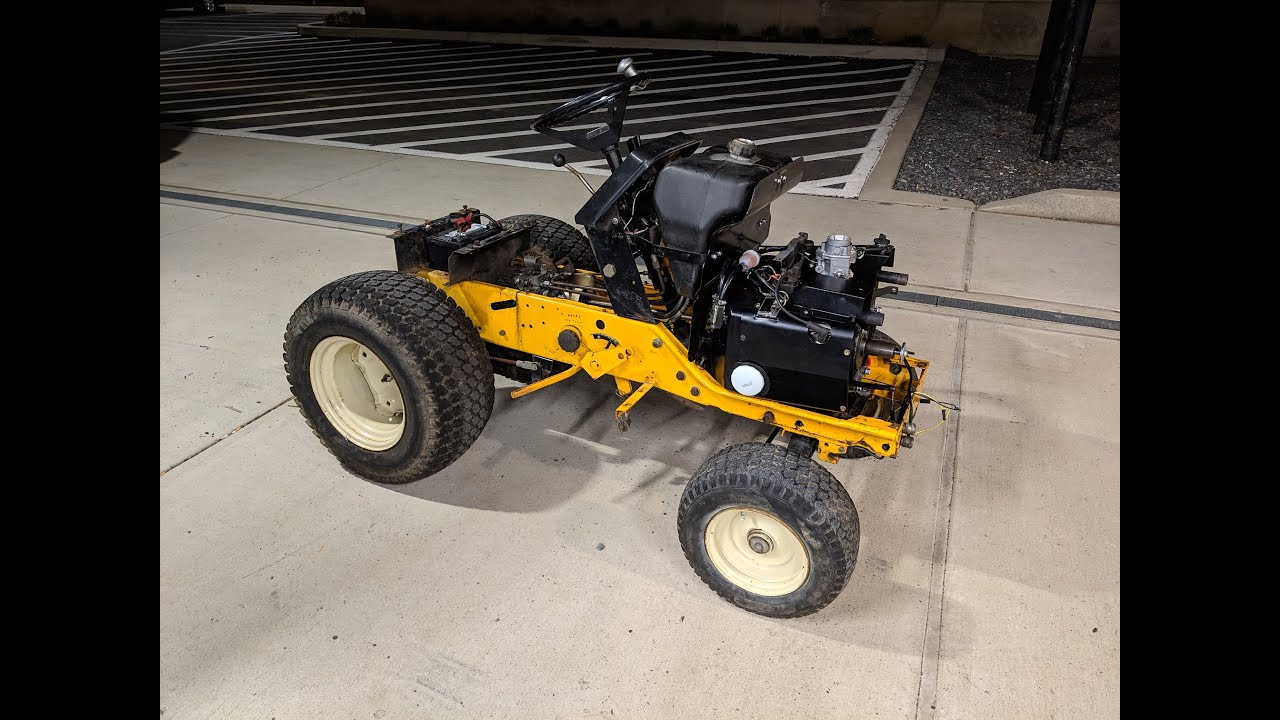 The Cub Cadet 782 Lives! Onan P218G Engine - First Start in 13 Years