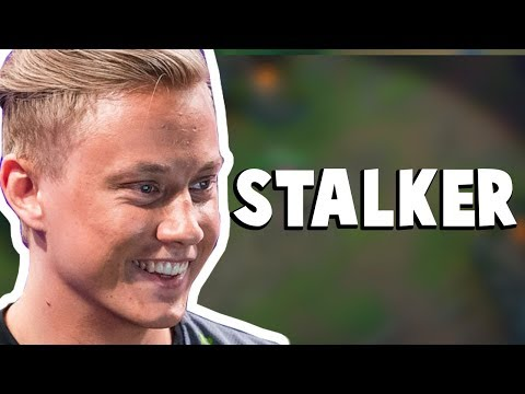 When Rekkles Decided To Stalk His Opponent Mid-Game...| Funny LoL Series #209