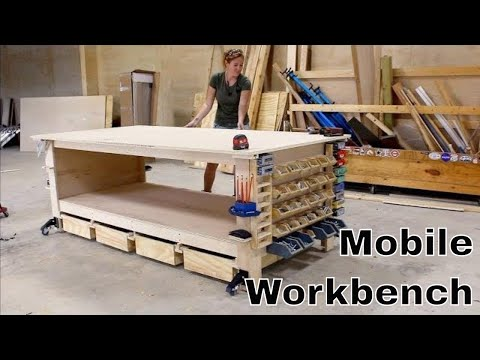 Ultimate Workbench + 10 Shop Storage Solutions