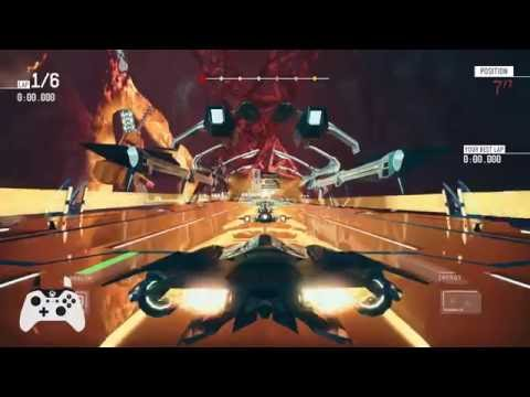 Redout Campaign - Gameplay - from my Twitch Channel - 13th September 2016