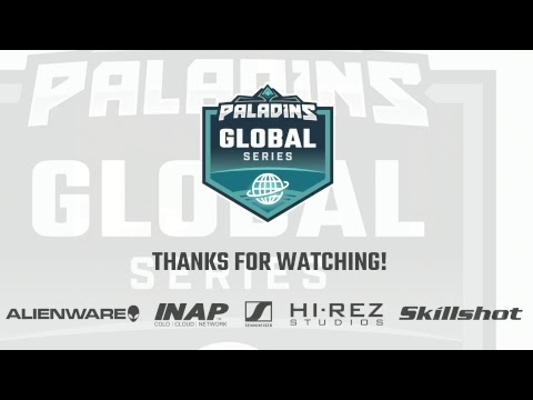 Paladins Global Series | Fall Split Week 4 | EU and Brazil