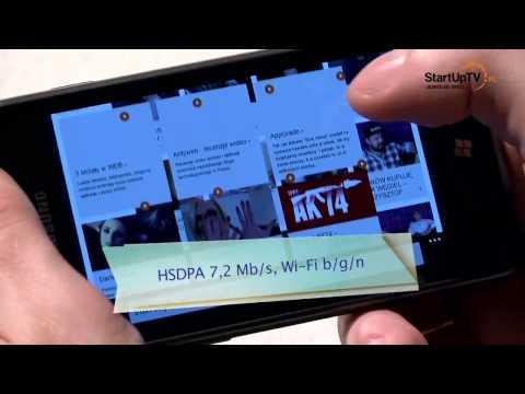 Samsung OMNIA M - test wideorecenzja smartfona z Windows Phone