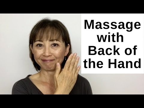 How to Massage with the Back of the Hand - Massage Monday #444 thumbnail