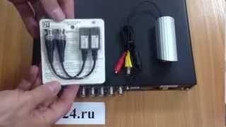 Подключение видеокамеры по витой паре(, 2013-12-23T14:38:46.000Z)