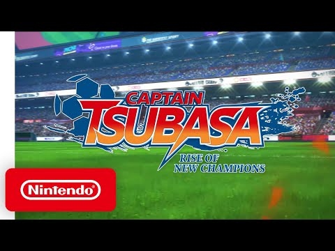 Captain Tsubasa: Rise of the New Champions - Release Date Announcement Trailer - Nintendo Switch