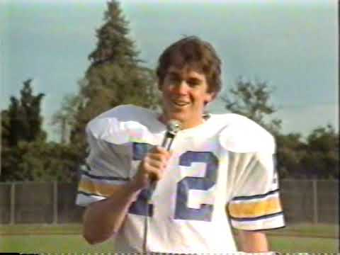 Menlo School Football Highlights from the 1983 Season (Class of '84 Seniors)