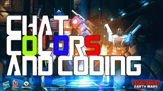 Transformers Earth Wars: Colorize Your Alliance Chat!!!