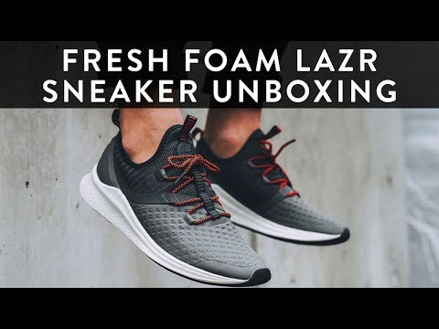 New Balance Fresh Foam LAZR| Sneaker Unboxing | The New Collections | Llomotes