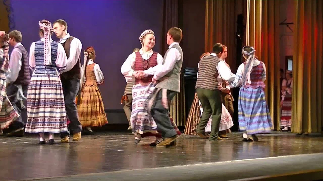 Lithuanian Folk Dance By Grandis Youtube