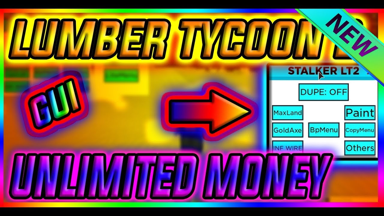 NEW SCRIPT LUMBER TYCOON 2 GUI, INSTA CUT TREES, HOW TO GET GOLD AXE,  UNLIMITED MONEY, GOLD TREES OP