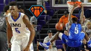 5-Star Junior Emmitt Williams Dunks EVERYTHING At The 2016 City of Palms!!