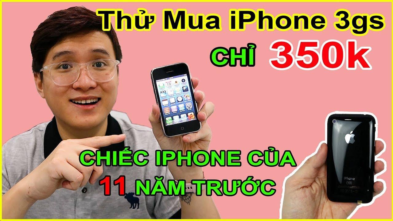 Thử mua Apple iPhone 3gs giá 350k trên LAZADA, SHOPEE. Ở 2020 mua làm gì nữa?? | MUA HÀNG ONLINE