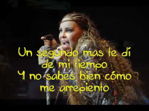 Belinda - Egoista Karaoke (letra /lyrics) en pantalla /on screen