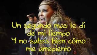 Belinda - Egoista Karaoke (letra /lyrics) en pantalla /on screen