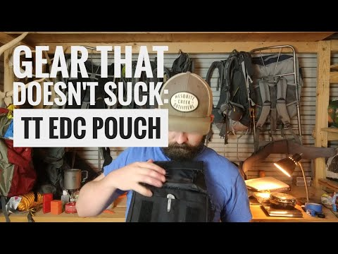 EDC Gear Review: the Tasmanian Tiger EDC Pouch