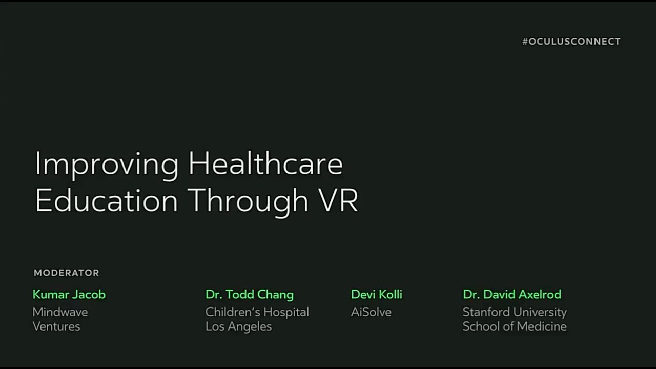The CHLA VR Simulation Project