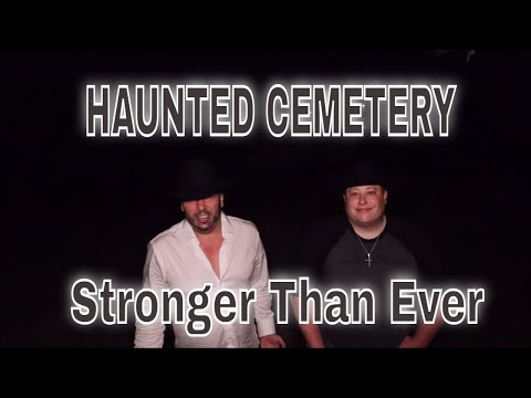(HAUNTED CEMETERY) HAVING FUN, CHASING GHOSTS, WE ARE BACK STRONGER THAN EVER