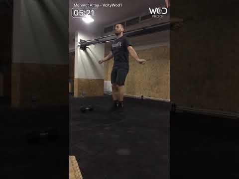 Mehmet Altay V City Fitness Championship Elite Men Wod1