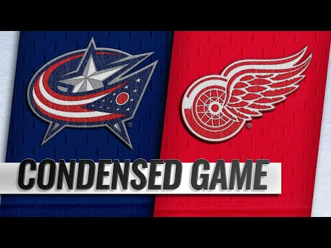 11/26/18 Condensed Game: Blue Jackets @ Red Wings