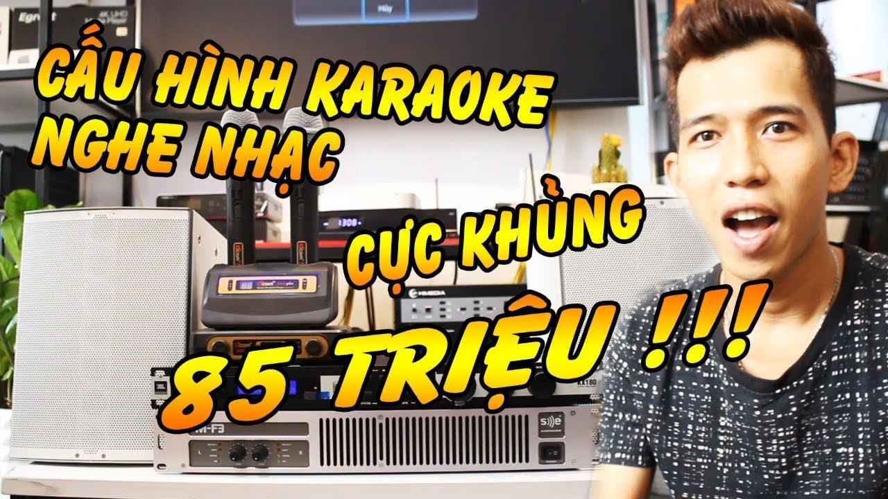 Bộ Dàn Karaoke Chính Hãng Đức, Ai Nghe Cũng Mê