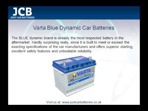 Car Brands Starting With A >> Varta Car Batteries - YouTube