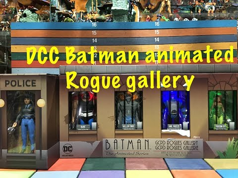 DC Collectibles Batman Animated ROGUE GALLERY action figures toy review