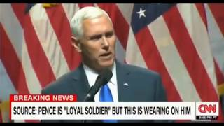 Pence feeling the pressure as his own credibility is in question as revelations come out