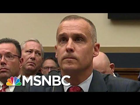 Combative Corey Lewandowski Begrudgingly Affirms Mueller Report's Truth | Rachel Maddow | MSNBC