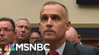Combative Corey Lewandowski Begrudgingly Affirms Mueller Report's Truth | Rachel Maddow | MSNBC