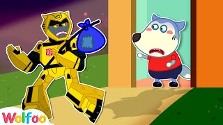 Bumblebee Toy! Please Don't Leave Wolfoo - Toy Story for Kids | Wolfoo Channel Kids Cartoon