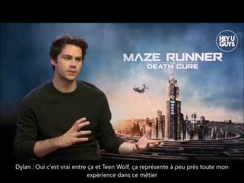 Dylan O'Brien on his Accident & Girlfriend Britt Robertson  Death Cure & American Assassin VOSTFR