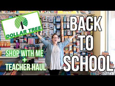 DOLLAR TREE | SHOP WITH ME | TEACHER HAUL