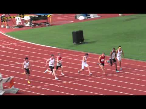 100M Joshua Clarke 10.19 Australian Championships 2015