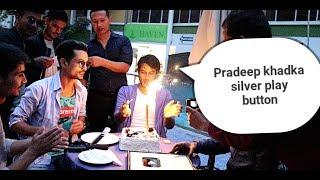 Nepali Prank-CELEBRATING SILVER PLAY BUTTON SPECIAL MOMENT /FT/PRADEEP KHADKA
