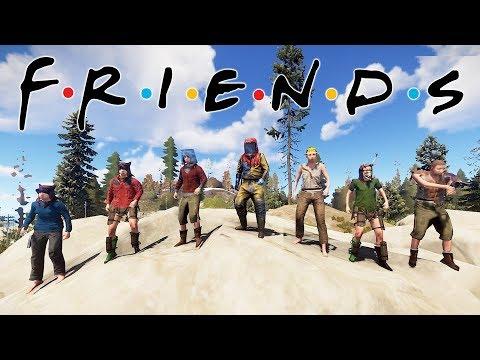 Met people in Rust WHO WERE FRIENDLY?!   Rust Vanilla Duo/group survival gameplay thumbnail