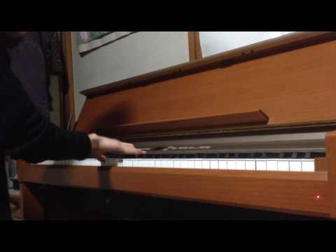 Silent Siren 八月の夜 piano cover