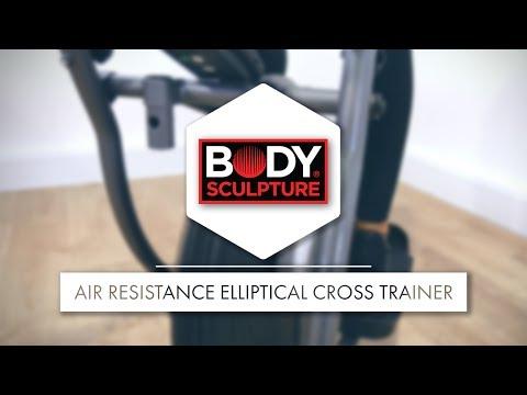 Body Sculpture - Dual Action Air Resistance Elliptical Cross Trainer | BE5920