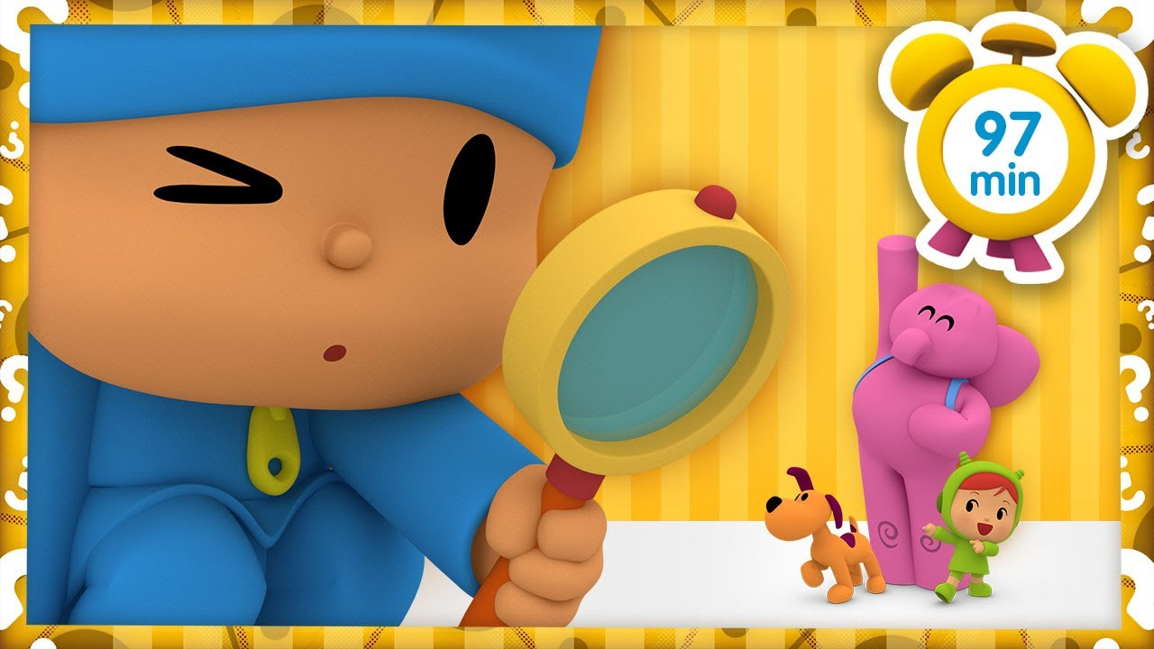 🔎 POCOYO in ENGLISH - Magical worlds [ 97 minutes ] | Full Episodes | VIDEOS and CARTOONS for KIDS