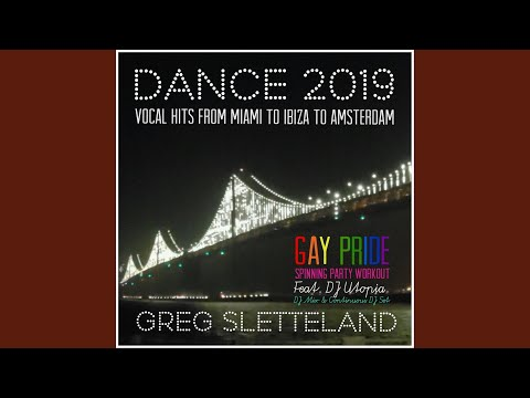 Dance Party 2019 Gay Pride Spinning Workout DJ Mix (Continuous DJ Set)