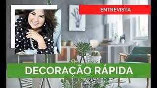 Entrevista | Programa Mundo VIP - Decoração Rápida | Fabio Rocha Arquitetura Residencial