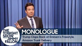 Trump Claps Back at Eminem