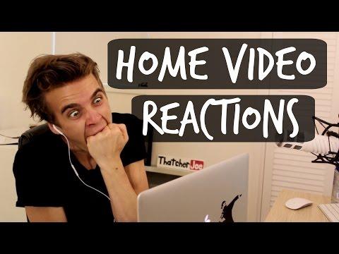 REACTING TO OLD HOME VIDEOS   ThatcherJoeиз YouTube · Длительность: 6 мин4 с