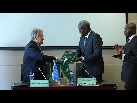 UN chief at African Union summit