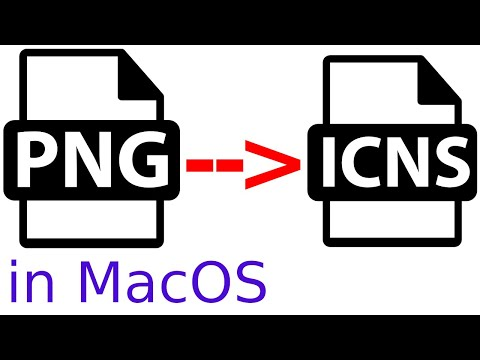 Create Mac Icon From PNG | Convert PNG To ICNS On Mac | Create ICNS Icon Files In Mac | PNG To ICNS