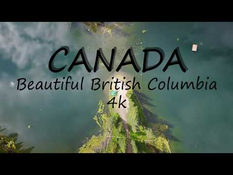 Canada - Beautiful British Columbia by drone in 4K (dji mavic pro)