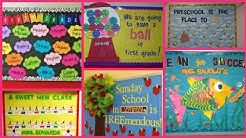Display board ideas for school ||  School display board collection ||