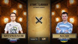 ShtanUdachi vs Allad, 1/4, StarLadder Hearthstone Ultimate Series