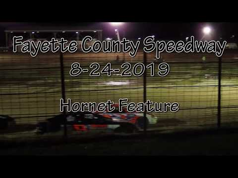 Fayette County Speedway Hornet Feature August 28 2019
