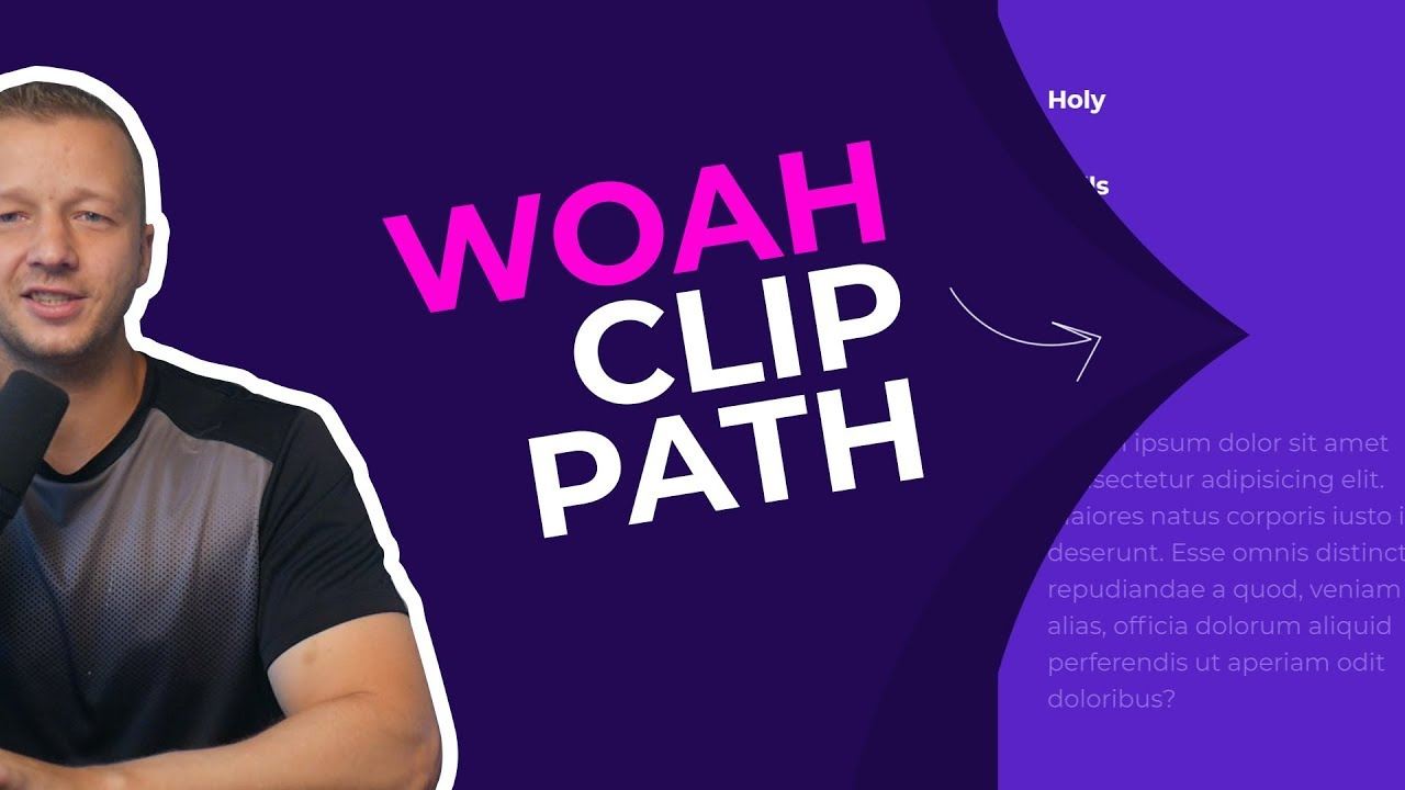 SVG Clip Path Tutorial - Create Awesome UI Animations with Clip Path
