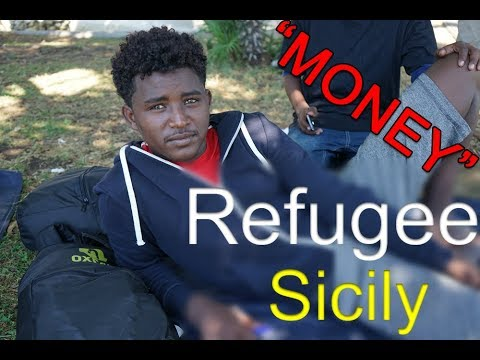 """MONEY"" - Interview REFUGEES IN SICILY"